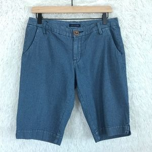 Striped Bermuda Shorts Blue Tommy Hilfiger